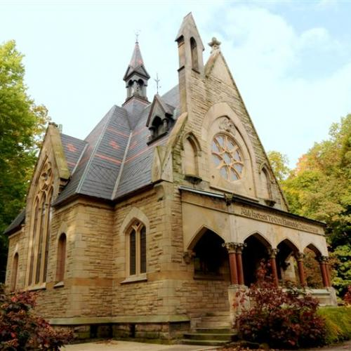 Glendale Cemetery Civil War Memorial Chapel