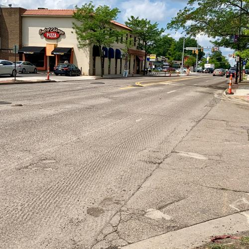 Wallhaven street resurfacing